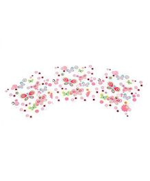 Funcart Flying Butterfly Theme Napkins - Pack of 9