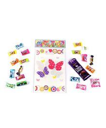 Funcart Flying Butterfly Theme Loot Bag - Pack of 6