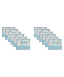 Funcart Little Baby Theme Invitation Cards - Blue