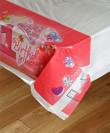 Funcart Sweet At One Princess Theme Plastic Cover Sheet