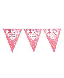 Funcart Sweet At One Princess Theme Banner