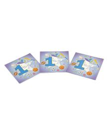 Funcart Sporty At 1 Theme Napkins - Pack of 9