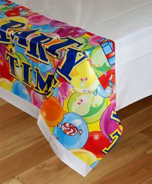Funcart Party Time Theme Plastic Cover Sheet
