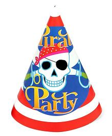 Funcart Pirate Party Theme Party Cone Caps