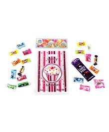 Funcart Sweet Treat Cupcake Pink Theme Loot Bag