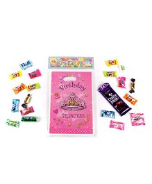 Funcart Birthday Princess Theme Loot Bags - Pink
