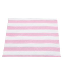 Funcart Party Paper Napkins Striped Pink - Pack of 20