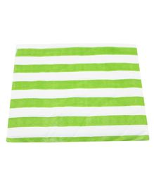 Funcart Party Paper Napkins Striped Green - Pack of 20
