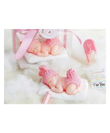 Funcart Scented Candle Sleeping Baby - Pink
