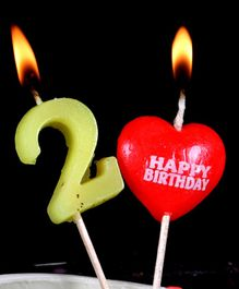 Funcart Number 2 Pick Style Candle