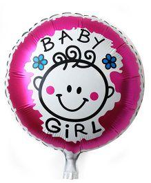 Funcart Baby Round Foil Ballon - Pink