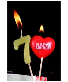 Funcart Number 7 Pick Style Candle