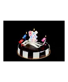 Funcart Toffee Birthday Girl Candle Set - Multicolor