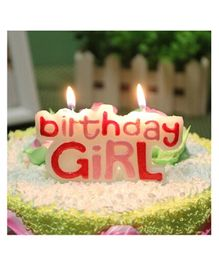 Funcart Glitter Birthday Pick Candle - Pink