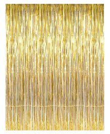 Funcart Foil Curtain - Golden