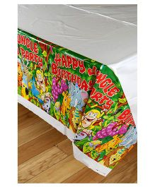 Funcart Jungle Party Theme Plastic Cover Sheet