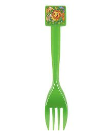 Funcart Jungle Party Theme Forks Green - Pack of 6