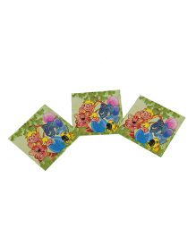 Funcart Jungle Party Theme Napkins - Pack of 9