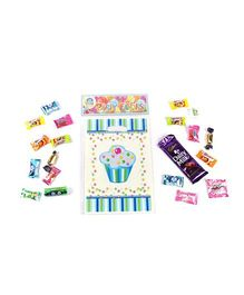 Funcart Sweet Treat Cupcake Blue Theme Loot Bag