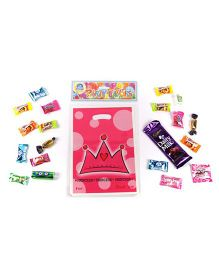Funcart Princess Crown Theme Loot Bag - Pink