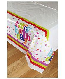 Funcart Star Birthday Theme Plastic Cover Sheet