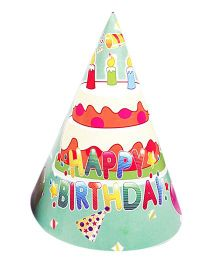 Funcart Frolic Birthday Theme Party Cone Caps