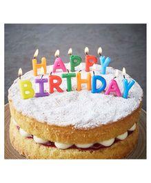 Funcart Happy Birthday Single Toothpick Candle
