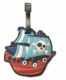Funcart Pirate Ship Luggage Tag