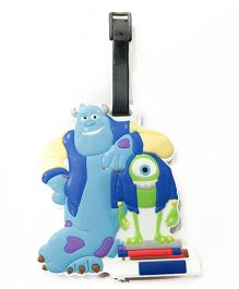Funcart Shrek Luggage Tag - Blue