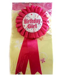 Funcart Birthday Ribbon Brooch - Pink