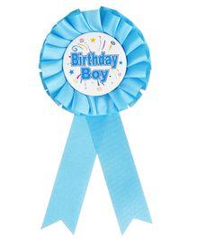Funcart Birthday Ribbon Brooch - Blue