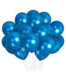 Funcart Metallic Latex Balloons - Dark Blue