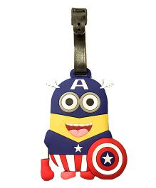 Funcart Captain America Luggage Tag