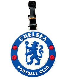 Funcart Chelsea Luggage Tag - Blue And White