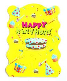 Funcart Colorful Balloons Pinata Khoi Bag - Yellow