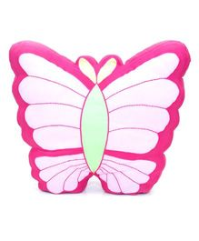 The Sprouts Butterfly Shaped Cushion - Pink