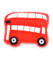 The Sprouts Bus Shaped Cushion - Red