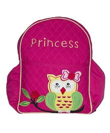 The Sprouts Owl Backpack - Pink