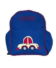 The Sprouts Car Backpack - Blue