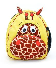The Sprouts Giraffee Backpack - Yellow