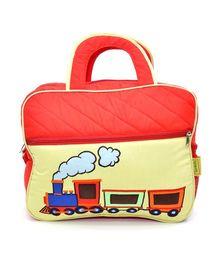 The Sprouts Train Diaper Bag - Peach