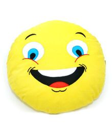 The Sprouts Emoticon Cushion - Yellow