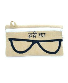 The Sprouts Dadi Printed Specks Pouch - Beige
