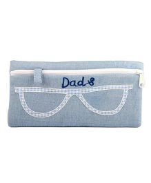 The Sprouts Dads Printed Specks Pouch - Grey