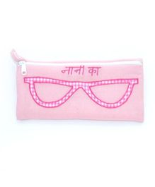 The Sprouts Nana Printed Specks Pouch - Pink