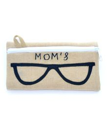 The Sprouts Mom's Printed Specks Pouch - Beige