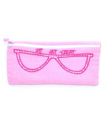 The Sprouts Ma Printed Specks Pouch - Pink