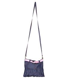 The Sprouts Skirt Style Sling Bag - Blue