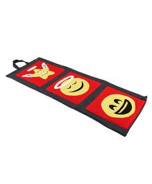 The Sprouts Smiley Wall Organizer - Red