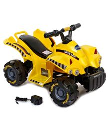Babyhug Quadra Hulk ATV Battery Operated Ride On - Yellow